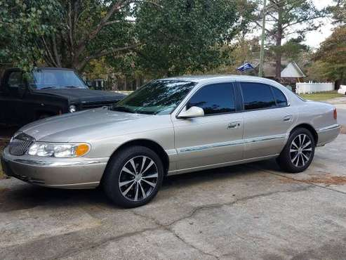 77k Original Miles 99 Lincoln Cont. - cars & trucks - by owner -... for sale in Petal, MS