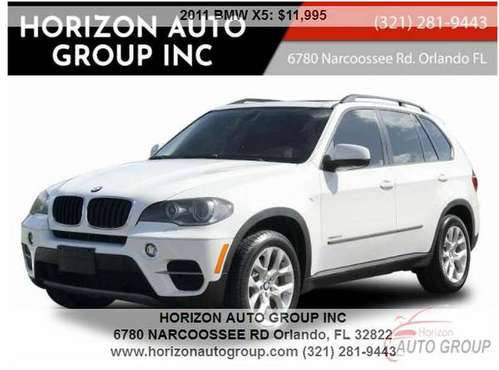 2011 BMW X5 xDrive35 - - NO Accidents/Damage!! -- - Third Row Seating! for sale in Orlando, FL