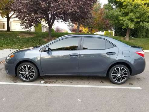 2016 Toyota Corolla S Plus 1 owner moonroof low miles for sale in Nampa, ID