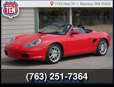 2004 Porsche Boxster for sale in Ramsey , MN