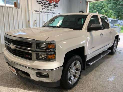 2014 CHEVY SILVERADO LT*CREW*HEATED SEATS*REMOTE START*66K*SHARP 4X4!! for sale in Webster City, IA