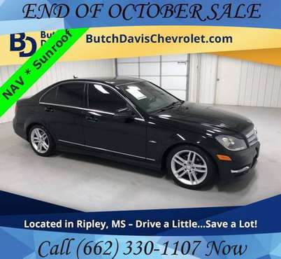 2012 Mercedes-Benz C-Class C250 Luxury 4D Sedan w Leather Sunroof +NAV for sale in Ripley, TN