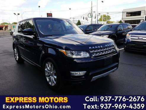 2016 Land Rover Range Rover Sport 4WD 4dr V6 Diesel HSE GUARANTEE for sale in Dayton, OH