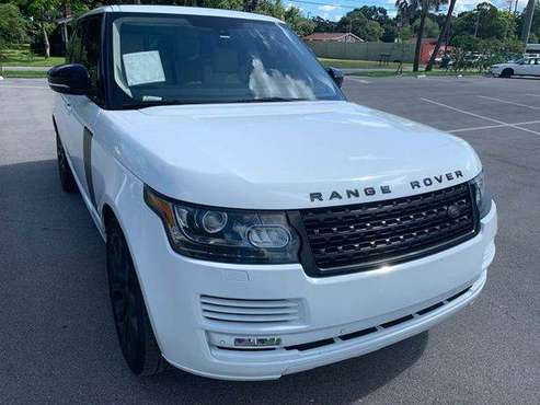 2013 Land Rover Range Rover HSE 4x4 4dr SUV 100% CREDIT APPROVAL! for sale in TAMPA, FL