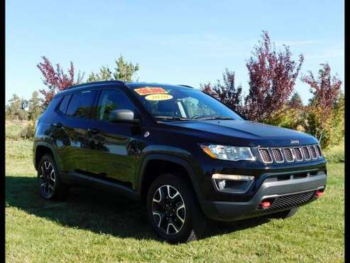 2020 Jeep Compass Trailhawk 4x4 **ONE OWNER** - cars & trucks - by... for sale in Redmond, OR