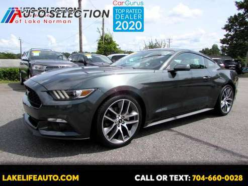2015 Ford Mustang EcoBoost Coupe - cars & trucks - by dealer -... for sale in Mooresvile, NC