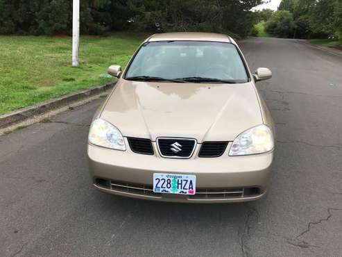 2005 Suzuki Forenza Sedan low miles for sale in Dundee, OR