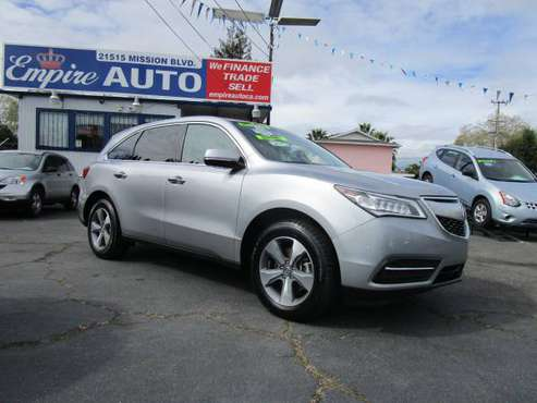 2016 Acura MDX SH-AWD 4dr with Engine Immobilizer - $24995 for sale in Hayward, CA