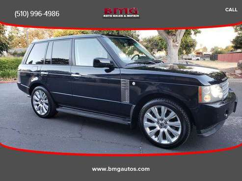 2007 Land Rover Range Rover Supercharged Sport Utility 4D for sale in Fremont, CA