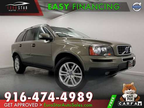 2011 VOLVO XC90 I6 XC 90 AWD ALL WHEEL DRIVE / FINANCING AVAILABLE!!! for sale in Rancho Cordova, CA