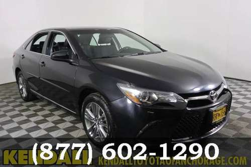 2017 Toyota Camry Midnight Black Metallic Priced to SELL!!! for sale in Anchorage, AK