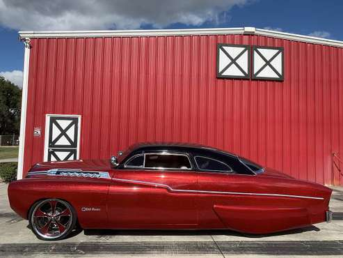 1949 1950 1951 Merc Chopped Top Lead Sled MUST SEE MEDAL FLAKE RED for sale in geneva, FL