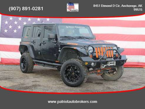 2013 / Jeep / Wrangler / 4WD - PATRIOT AUTO BROKERS - cars & trucks... for sale in Anchorage, AK