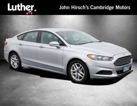 2016 Ford Fusion SE - cars & trucks - by dealer - vehicle automotive... for sale in Cambridge, MN