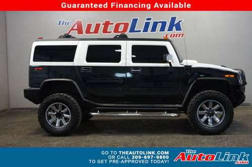 2004 HUMMER H2, Sport Utility 4D - BLACK for sale in Bartonville, IL