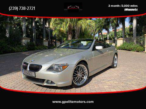 2005 BMW 645Ci Convertible CLEAN + WARRANTY for sale in Fort Myers, FL