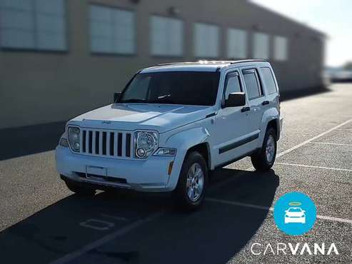 2011 Jeep Liberty Sport SUV 4D suv White - FINANCE ONLINE - cars &... for sale in Pittsburgh, PA