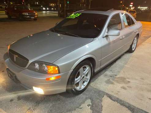 2002 Lincoln LS V8 Leather & Sunroof Only 102k - cars & trucks - by... for sale in Des Moines, IA
