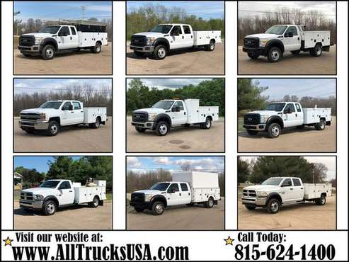 Medium Duty Service Utility Truck 1 ton Ford Chevy Dodge GMC 4x4 4WD... for sale in Raleigh, NC