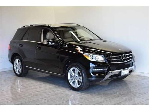 2014 Mercedes-Benz M-Class ML 350 Sport Utility 4D SUV for sale in Escondido, CA
