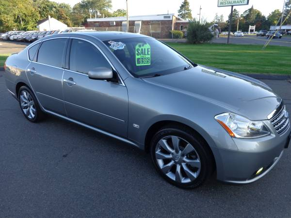 ****2007 INFINITI M35X AWD-ONLY 94k-NAV-CAMERA-SR-NICEST 07 AROUND110% for sale in East Windsor, CT
