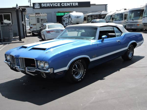 1971 OLDSMOBILE 442 CONVERTIBLE * REAL DEAL 442 * for sale in Santa Ana, CA – photo 6
