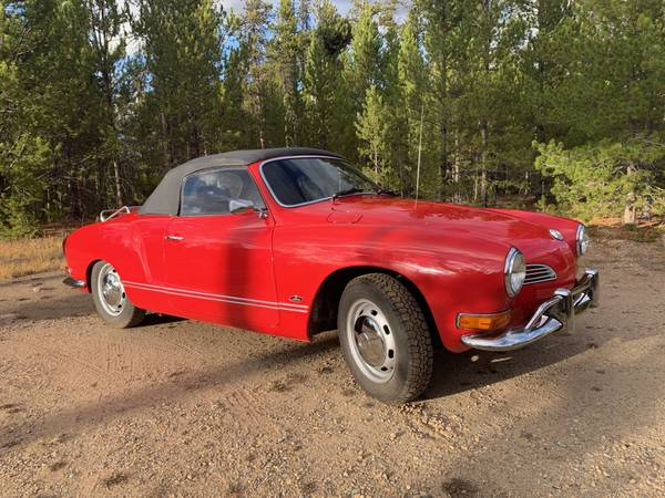 1971 VW Karmann Ghia Convertible for sale in Leadville, CO – photo 4