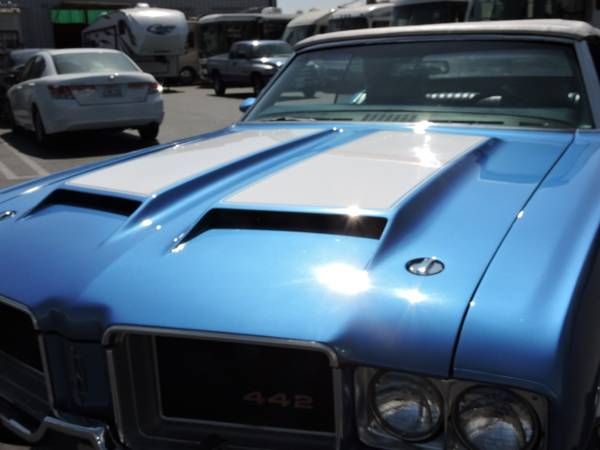 1971 OLDSMOBILE 442 CONVERTIBLE * REAL DEAL 442 * for sale in Santa Ana, CA – photo 5