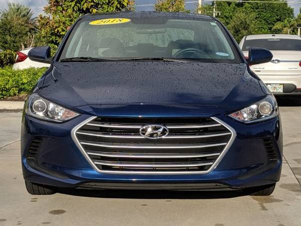 2018 Hyundai Elantra Lakeside Blue Great Deal! for sale in Naples, FL – photo 8