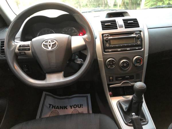 2012 TOYOTA COROLLA S SEDAN 106k miles ** Manual Transmission** for sale in Savannah, GA – photo 10