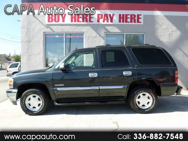 2003 GMC Yukon 2WD BUY HERE PAY HERE for sale in High Point, NC