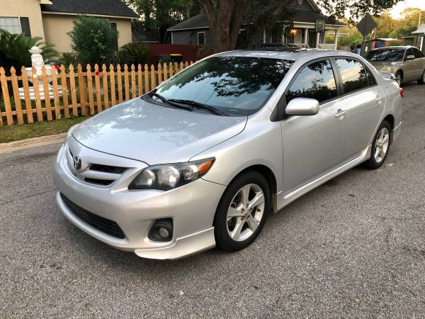2012 TOYOTA COROLLA S SEDAN 106k miles ** Manual Transmission** for sale in Savannah, GA – photo 2