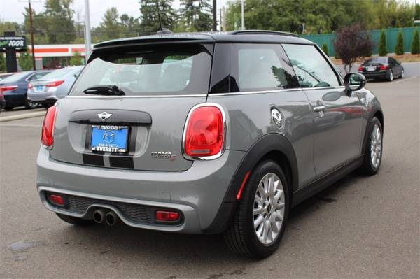 2015 MINI Cooper Hardtop 2dr HB S Call Tony Faux For Special Pricing for sale in Everett, WA – photo 4