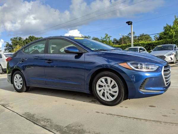 2018 Hyundai Elantra Lakeside Blue Great Deal! for sale in Naples, FL – photo 2