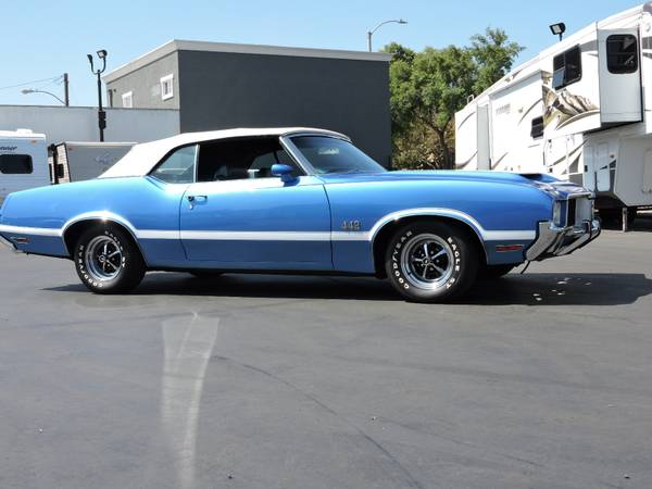 1971 OLDSMOBILE 442 CONVERTIBLE * REAL DEAL 442 * for sale in Santa Ana, CA – photo 3