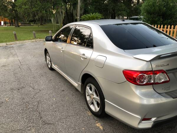 2012 TOYOTA COROLLA S SEDAN 106k miles ** Manual Transmission** for sale in Savannah, GA – photo 4