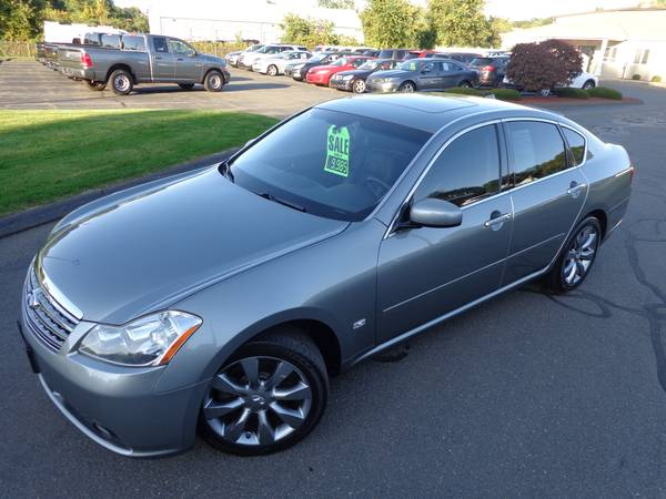 ****2007 INFINITI M35X AWD-ONLY 94k-NAV-CAMERA-SR-NICEST 07 AROUND110% for sale in East Windsor, CT – photo 18