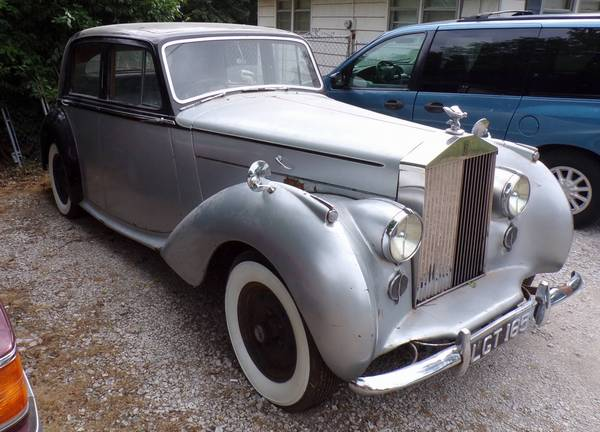 1949 Bentley MK VI Mark Six Standard Steel Saloon Rolls-Royce for sale in Kansas City, Kansas, MO – photo 2
