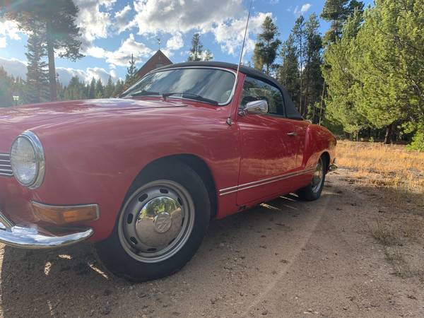 1971 VW Karmann Ghia Convertible for sale in Leadville, CO – photo 7