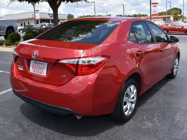 2016 Toyota Corolla LE for sale in Spartanburg, SC – photo 3