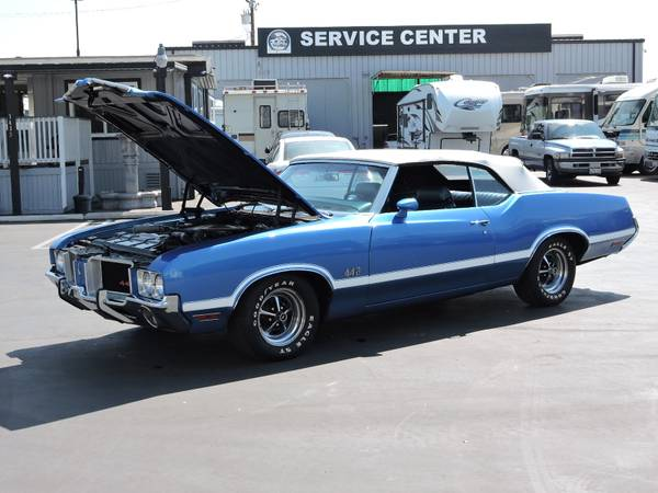 1971 OLDSMOBILE 442 CONVERTIBLE * REAL DEAL 442 * for sale in Santa Ana, CA – photo 15