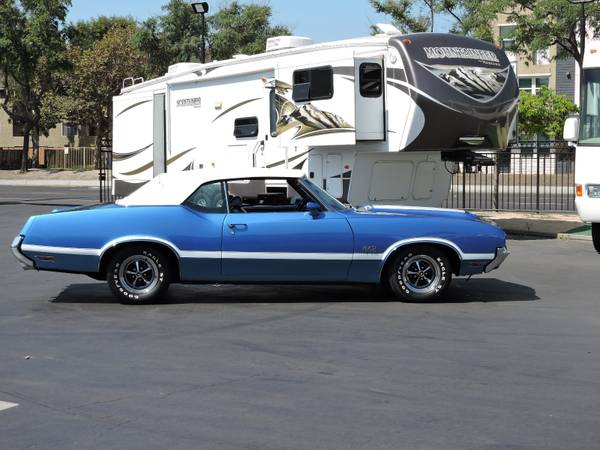 1971 OLDSMOBILE 442 CONVERTIBLE * REAL DEAL 442 * for sale in Santa Ana, CA – photo 2