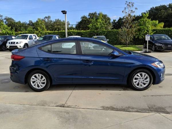 2018 Hyundai Elantra Lakeside Blue Great Deal! for sale in Naples, FL – photo 3