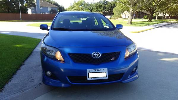 2010 Toyota Corolla Sport for sale in Houston, TX – photo 9