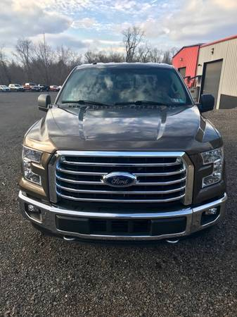 2016 F150 XLT 4x4 for sale in Wellsburg, PA