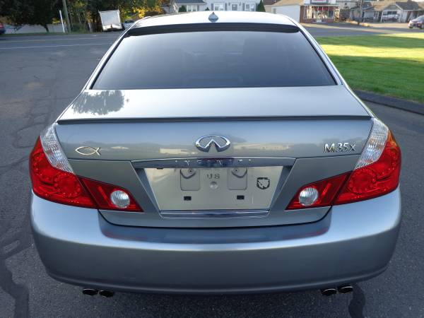 ****2007 INFINITI M35X AWD-ONLY 94k-NAV-CAMERA-SR-NICEST 07 AROUND110% for sale in East Windsor, CT – photo 4
