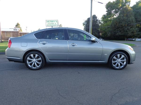 ****2007 INFINITI M35X AWD-ONLY 94k-NAV-CAMERA-SR-NICEST 07 AROUND110% for sale in East Windsor, CT – photo 2