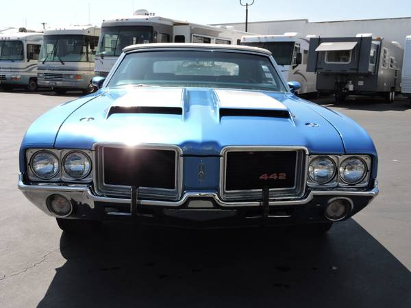 1971 OLDSMOBILE 442 CONVERTIBLE * REAL DEAL 442 * for sale in Santa Ana, CA – photo 4