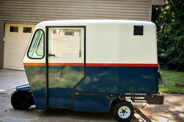 60s Westcoaster Mailster - vintage 3 wheel mail truck for sale in Concord, NC – photo 12