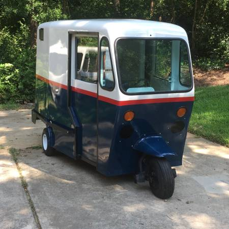 60s Westcoaster Mailster - vintage 3 wheel mail truck for sale in Concord, NC